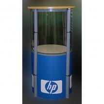 Pop-Up Display Plinth