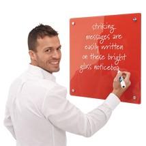 Coloured Glass Write On-Board