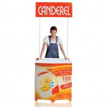 Compact Promotional Display Unit