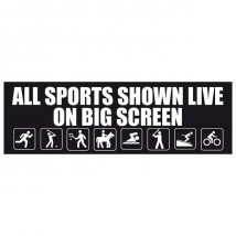 Sports Shown Live - Banner 174