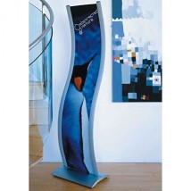 Extra Tall Curved Graphics Holder