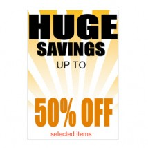 Huge Savings - Poster 133