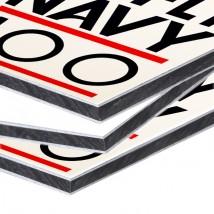 Dibond sign printing