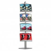 Freestanding Double A4 Literature Display Stand