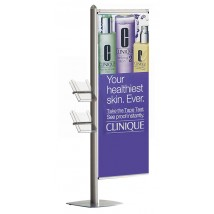 Point of Sale banner display stand