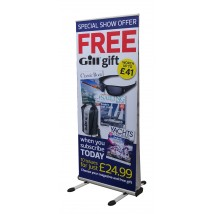 Outdoor Roll up Banner Stand