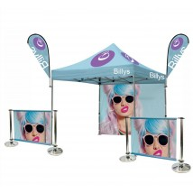 Outdoor Event Tent & Cafe Barrier Bundle
