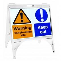 External Sign Holder