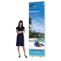 Super Tall 3m High Roller Banner Stand