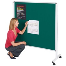 Fire Resistant Mobile Noticeboard