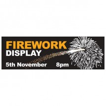 Fireworks Night - Banner 127