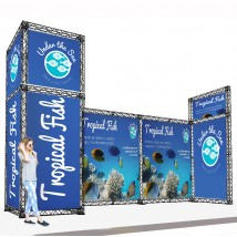 Medium Modular Stand Open 3 Sides