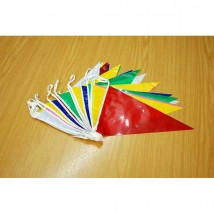Party Bunting 10m Length Red/Yellow/Pink/Green/Blue