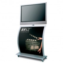 "42"" Flat Screen Display Stand"