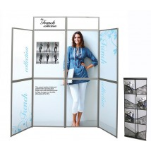 Titan 8 Panel Folding Display Including Graphics