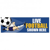 Live Football - Banner 130
