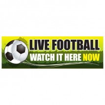 Live Football - Banner 213