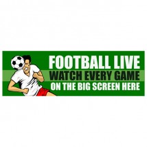 Live Football - Banner 212