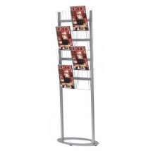 Free standing leaflet display