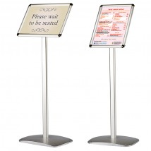 Free Standing Sign Holder available as landscape or portrait