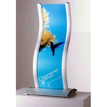 Freestanding Curved Panel Holder