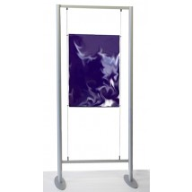 Shop Display UK - Wire Poster Stand