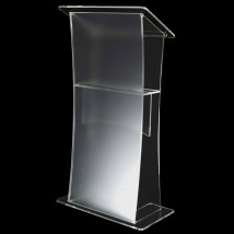 Frosted Effect Acrylic Lectern