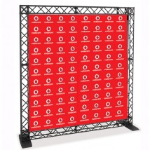 Logo Backdrop 2170mm wide
