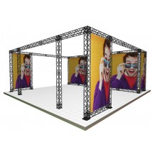 Overhead Exhibition Gantry Kit | 7x7m