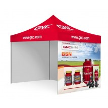 Custom Printed Tent with Canopy + Sidewalls