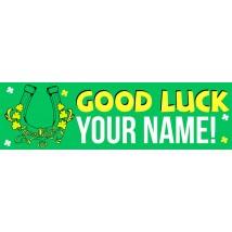 Good Luck - Banner 136