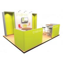 Modern Modular Stand - 4x4m