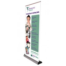 Retractable Cassette Banner Stands