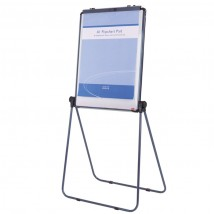 Loop Leg Double Sided Magnetic Flip Chart Board