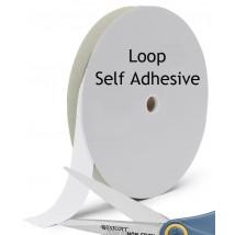 Loop nylon with self adhesive backing