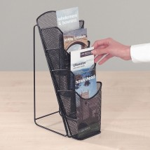 Wire Table Top Brochure Holder