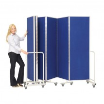 Insta-Wall Mobile Folding Room Partition