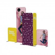Modulate™ Fabric POS Advertising Stand