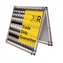 Square Mini Outdoor Banner Frame