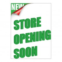 Store Opening - Poster 140
