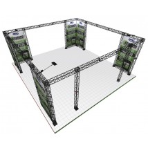 Truss Exhibition Gantry Frame | 7x7m