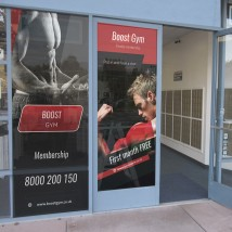 One Way window Vision Graphics