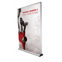 Retractable Jumbo Banner Stand