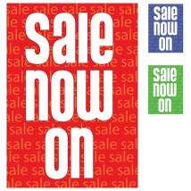 Poster - Sale Now On - 179