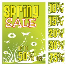 Poster - Spring Sale - 180