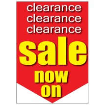 Poster - Clearance Sale Now On Point - 191