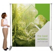 Large Tension Banner Stand