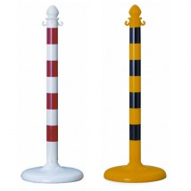 Chain Barrier Plastic Post System