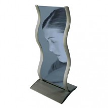 Portable Curved Display Stand