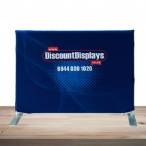 Printed Fabric Desktop Display Stand